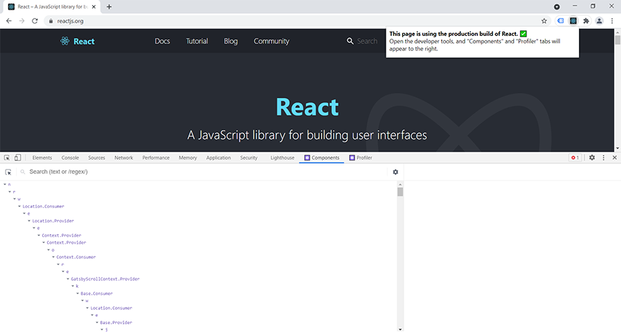 react browser extension