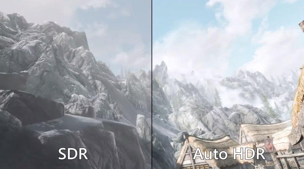 Windows 11 gaming Auto HDR